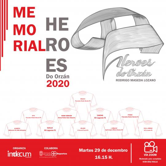 De la base a la élite, en el Memorial Heroes do Orzán 2020